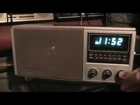 GE hi-fi AM/FM clock radio retrospective