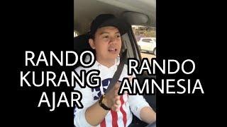 Pendapat Chandraliow tentang kelakuan jelek Rando