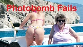 Funny Photobomb Compilation (Photograph fails) - DDOF