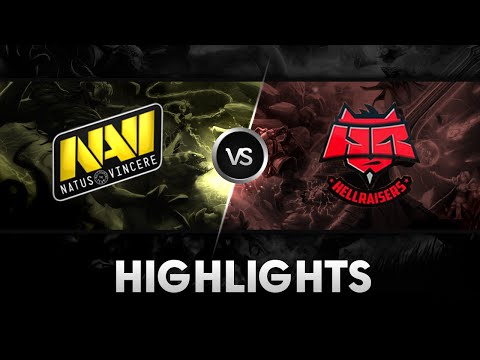 Highlights from NaVi vs HellRaisers Game 2 Starseries XI