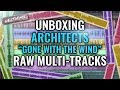 Architects Gone With The Wind Raw Multi Tracks UNBOXING mp3