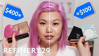 High End vs. Drugstore Vegan Makeup | Beauty With Mi | Refinery29