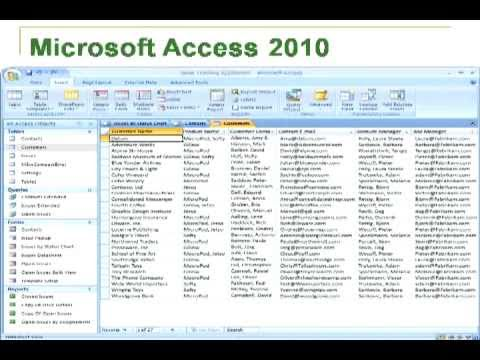 how to create employee database in ms access