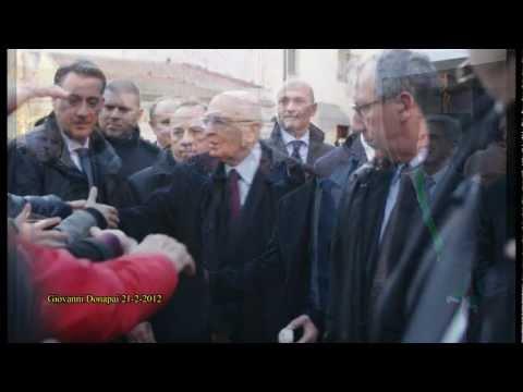 """Giovanni Donapai """"La visita del Presidente Napolitano ad Alghero 21 Febbraio 2012″.wmv"""