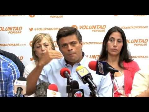Leopoldo López: No estamos para esperar 6 años a que se dé un cambio en Venezuela