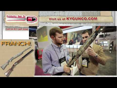 SHOT Show 2012 - Franchi Instinct & Affinity Shotgun Review & Shoot