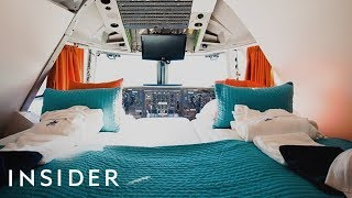 What It's Like To Sleep In A Boeing 747 Hotel Room