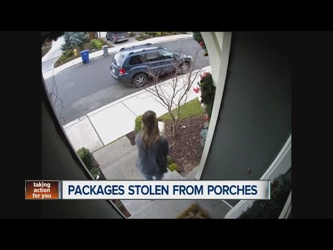 Will packages be stolen off your porches this holiday season?