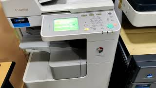 01. how to scan to usb & print from usb in canon ir 2520, 2525 , 2530,2545