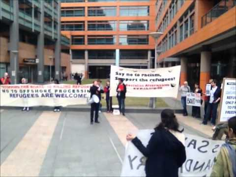 No Offshore Processing No Return to the Pacific Solution Rally Video 4