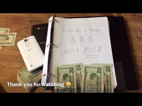 MCA EXPLAINED IN DETAIL