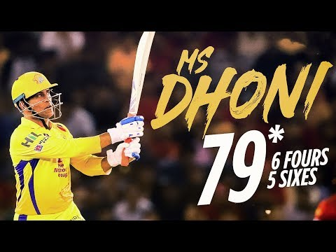 Dhoni's Unbeaten Heroic Batting | CSK Vs KXIP Match Review | IPL 2018