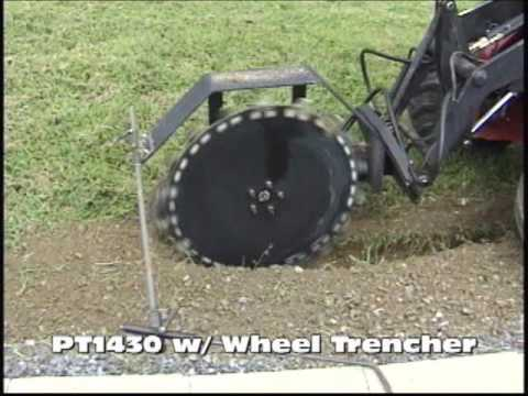 Power Trac PT1430 with Wheel Trencher