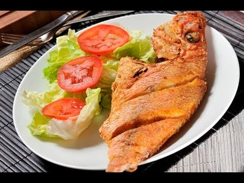 Pescado frito entero - Whole Fried Fish