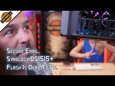 TekThing 27: 3 Secure Email Tools, Synology DS1515+ NAS, 64-bit Chrome & Firefox, Micro Bit!