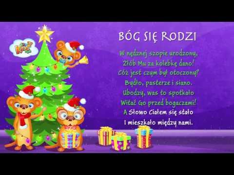 Polskie Kolędy - Bóg Się Rodzi + Tekst (karaoke)