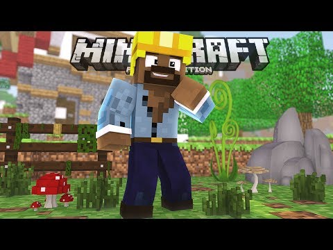 TOURING MY OLD SURVIVAL WORLDS!!! - Minecraft PE (Pocket W10 Edition)