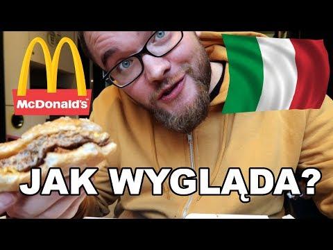 JAK WYGLĄDA MCDONALD'S WE WŁOSZECH? | GASTRO VLOG #74