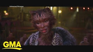 Star-studded trailer for 'Cats' featuring Taylor Swift and Idris Elba drops | GMA