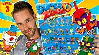 IMAGINANDO SuperZings Series 3 | Mega UNBOXING SuperZings en Pe Toys