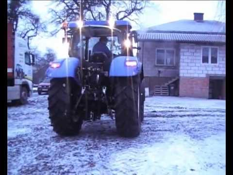 NOWY NABYTEK 2013 New Holland T6.165