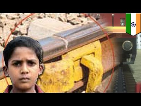 Child Heroes: 9 Year Old Stops Train Derailment By Warning Conductor Of Track Fault video