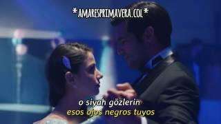 Amar es Primavera Capitulo.18   Baile de graduación de Oyku   Siyah Gözlere + sub.español  