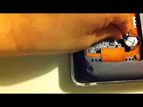 Como cambiar la pila del BIOS/CMOS de una Laptop HP Pavilion dv7