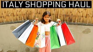 My Europe Shopping Haul | MyMissAnand
