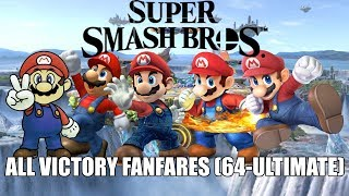 Super Smash Bros. Victory Fanfares (64-Ultimate) (1999-2018)