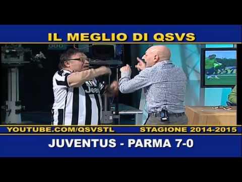 QSVS - I GOL DI JUVENTUS - PARMA 7-0 - TELELOMBARDIA