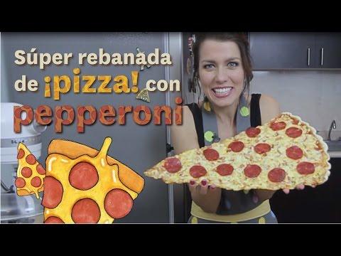 SÚPER REBANADA DE PIZZA CON PEPPERONI   DACOSTA'S BAKERY thumbnail