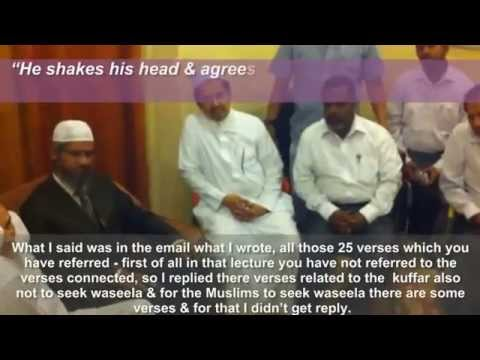 Dr.zakir Naik Fails To Reply Srilankan Sunni Ulema's Challenge? video