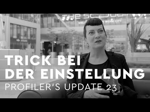 Trick bei der Einstellung - Profiler's Update 23