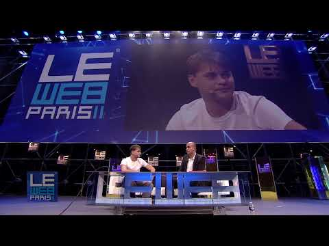 LeWeb 2011 Andrey Andreev, Founder, Badoo and Loic Le Meur