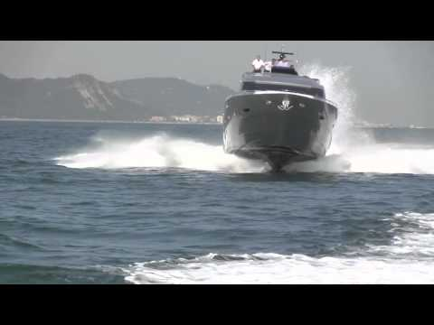 Pershing 80 and 92: Sea Trials, Italy
