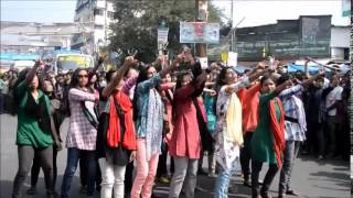 ICC World T20 2014 Flash MOB :: College of Home Economics, Dhaka