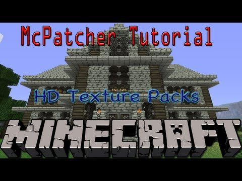 Minecraft: How To Install A HD Texture Pack | McPatcher Tutorial (Mac) - HD