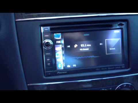 2007 Mercedes Benz C class Navigation Upgrade PIONEER ipod iphone