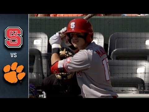 NC State vs. Clemson Baseball Highlights (May 8, 2016)
