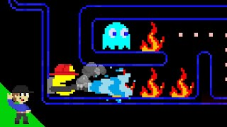Pac-Man's Maze Mayhem 2