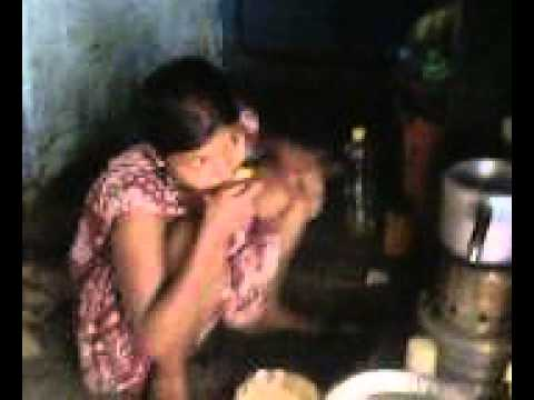 Hot Indian Girl Is Cooking video