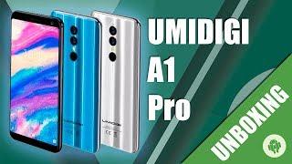 Unboxing UMIDIGI A1 Pro en Español con el nuevo MT6739
