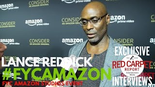 Lance Reddick #Bosch interviewed at Amazon Studios 2017 FYC Emmys Event