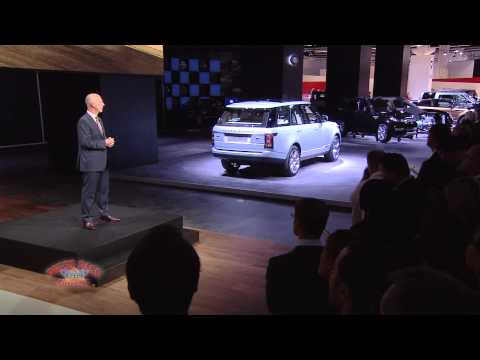 Jaguar Land Rover Presentation at 2013 Frankfurt Motor Show