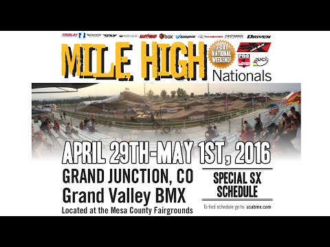 2016 USA BMX Mile High Nationals Day 1