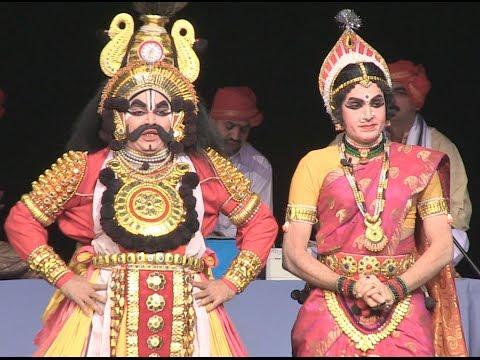 Kamsa Janana Yakshagana (ಕಂಸ ಜನನ ಯಕ್ಷಗಾನ) video