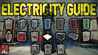 Rust Electricity Guide - FULL TUTORIAL