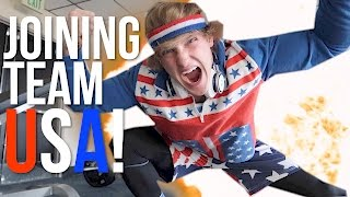 STARTING MY TRAINING FOR THE 2020 OLYMPICS!