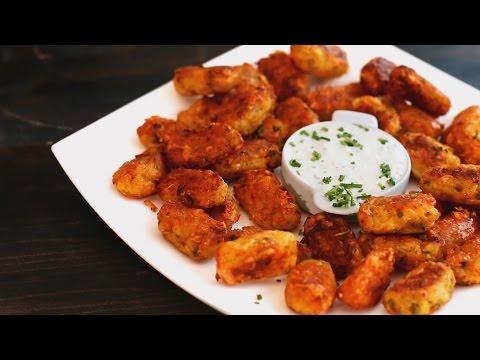 Roasted Potato & Cheese Tater Tots Recipe thumbnail